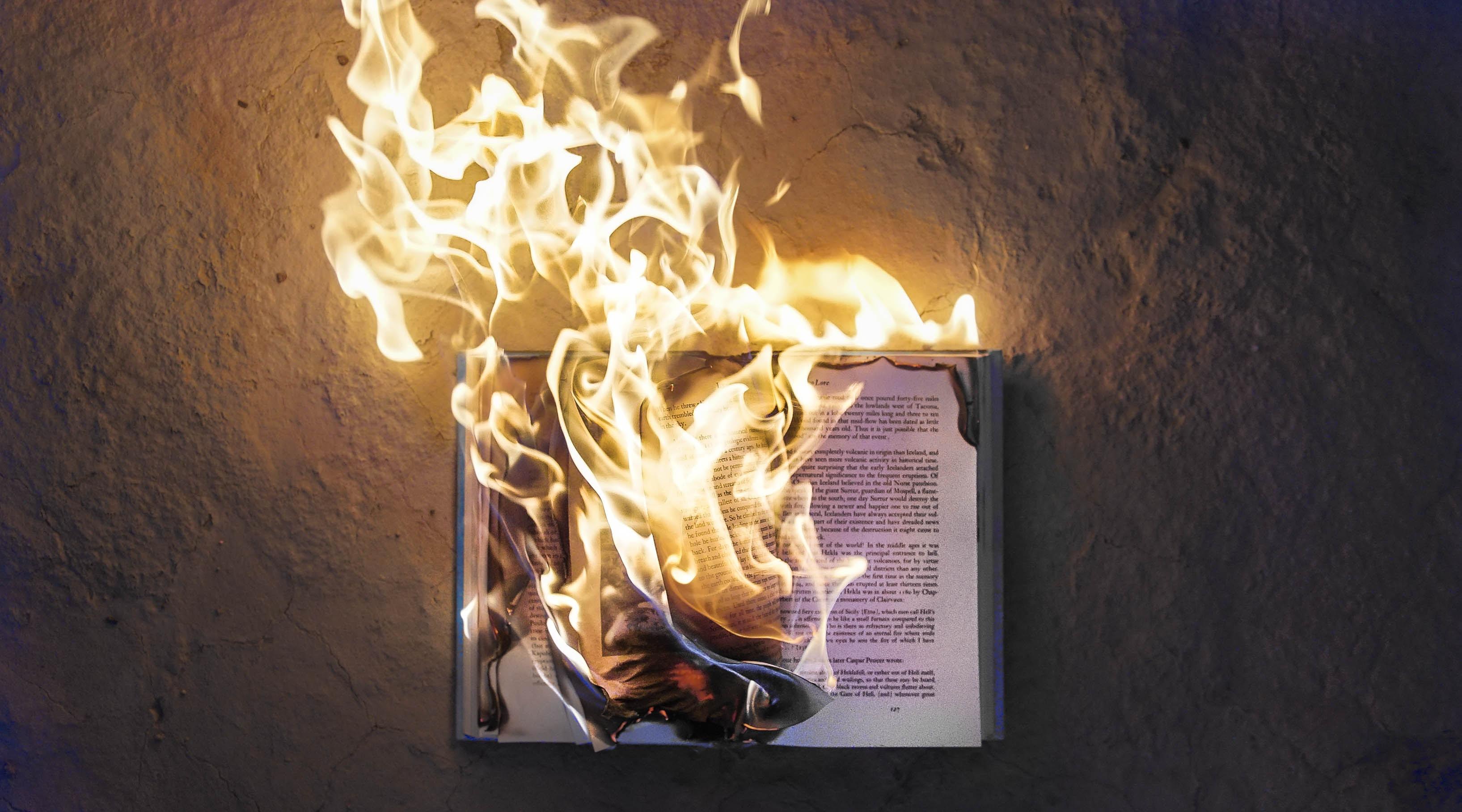 livre qui brule - Fahrenheit 451