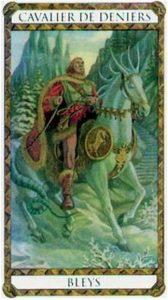 Bleys Prince d'Ambre Tarot illustré par Florence Magnin Edition Descartes 1994