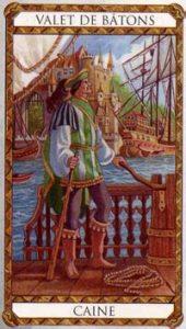 Caine Prince d'Ambre Tarot illustré par Florence Magnin