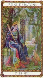 Deirdre Princesse d'Ambre Tarot illustré par Florence Magnin