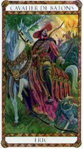 Eric Prince d'Ambre Tarot illustré par Florence Magnin