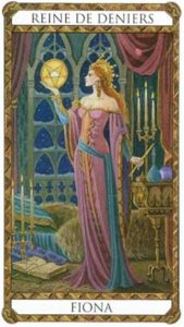 Fiona Princesse d'Ambre Tarot illustré par Florence Magnin