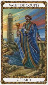 Gérard Prince d'Ambre Tarot illustré par Florence Magnin