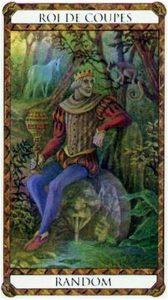 Random Prince d'Ambre Tarot illustré par Florence Magnin