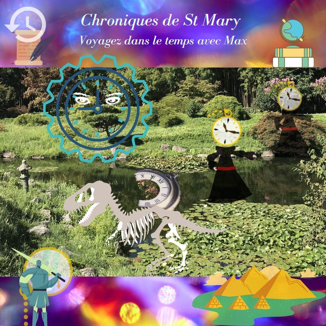 Chroniques St Mary Jodi Taylor voyage temps