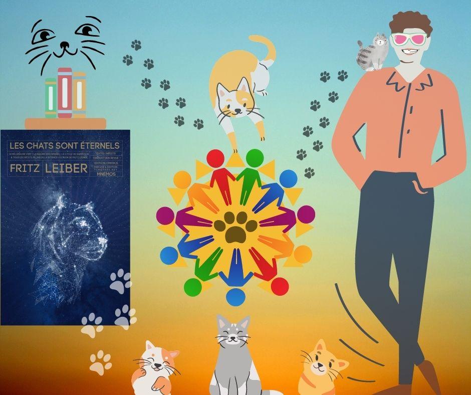 Article - Les chats sont éternels de Fritz Leiber - éditions Mnémos