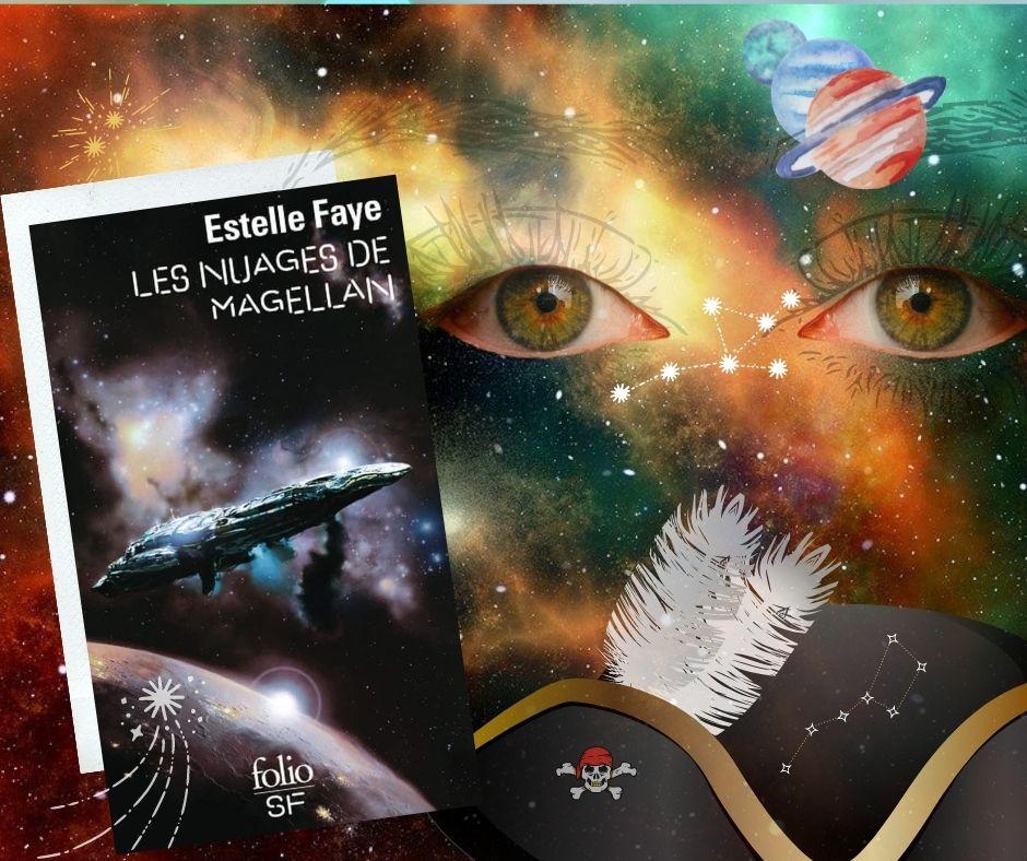 Photomontage pour article Nuages de Magellan