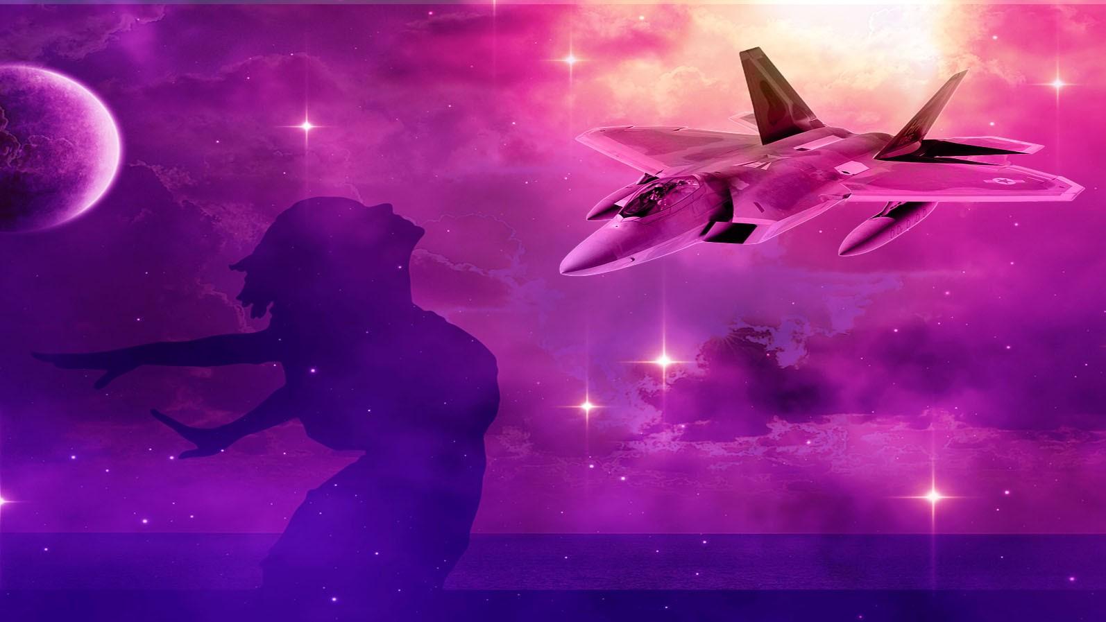 sky space femme