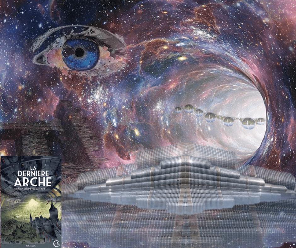 Photomontage pour roman La dernière arche
