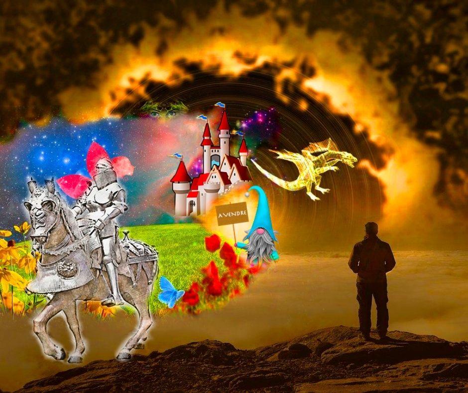 photomontage royaume magique - Scifilisons