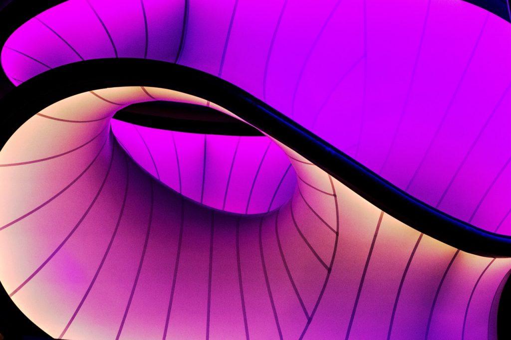 spirale violette