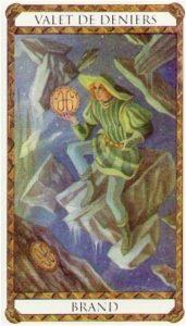 Brand Prince d'Ambre Tarot illustré par Florence Magnin