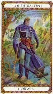 Corwin Prince d'Ambre Tarot illustré par Florence Magnin