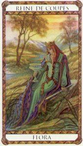 Flora Princesse d'Ambre Tarot illustré par Florence Magnin
