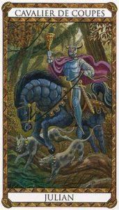 Julian Prince d'Ambre Tarot illustré par Florence