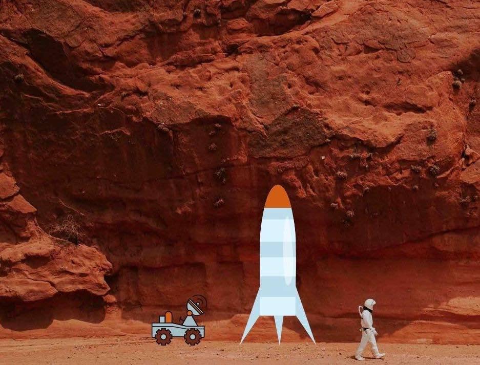 Mars planète à conquérir