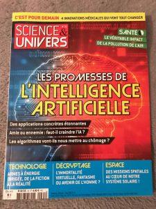 Science et univers - Promesses de l'intelligence artificielle